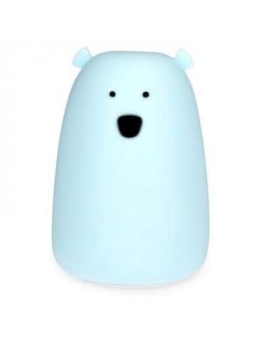 Veilleuse big ours bleu - little l