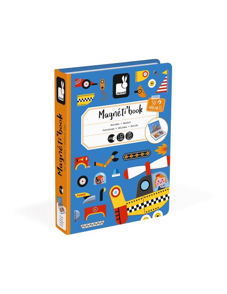 Magnéti'book Bolides Janod - boîte