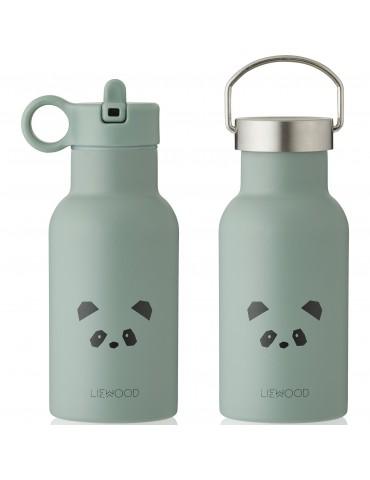 Gourde panda dusty mint - 350ml- liewood