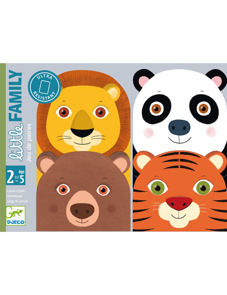 Cartes Little Family Djeco