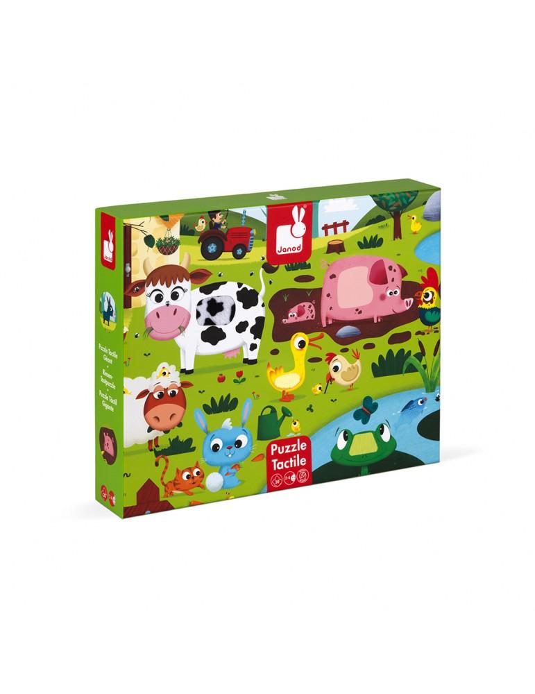 Puzzle tactile à partir de 2 ans Janod