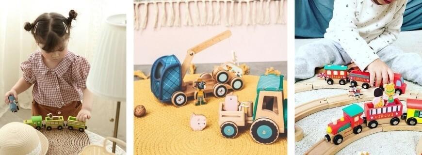 Imagination & Imitation,  Camions, Voitures, Trains, Circuits... |  Le Carrousel d'Emilie