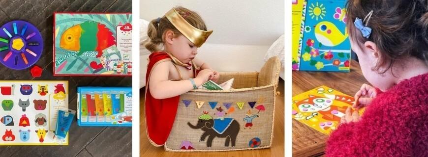 Loisirs créatifs,  De 12/18 mois à 3 ans |  Le Carrousel d'Emilie
