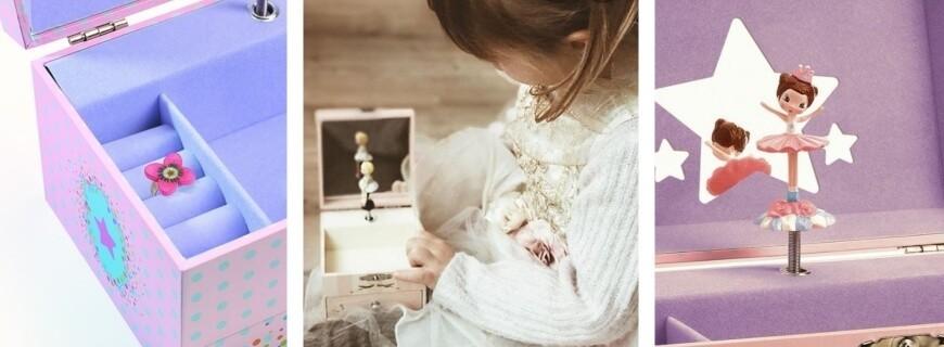 Décoration,  Boîtes à Musique, coffrets à bijoux    Le Carrousel d'Emilie