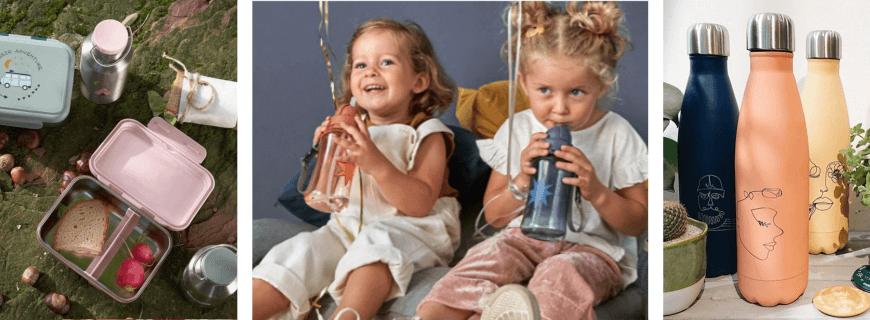 Gourdes et Boîtes à Goûter | Le Carrousel d'Emilie