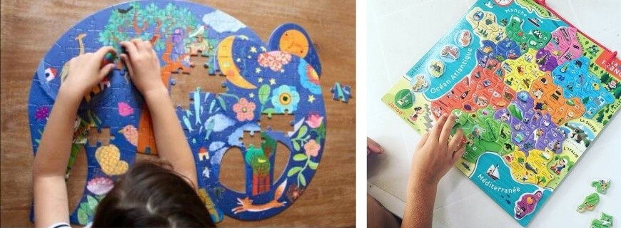 Puzzles 6-7-8 ans et plus