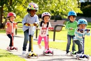 Porteurs, trotteurs, tricycles et trottinettes enfants